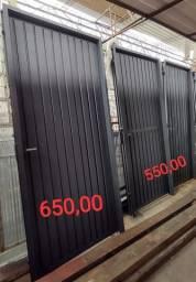 Portas em ferro Serralheria Metalúrgica Miranda