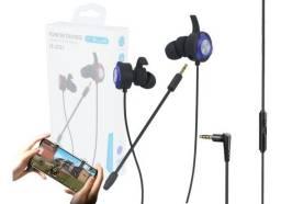 Fone Gamer - Free Fire/PUBG/Cod Mobile (Lojas WiKi)