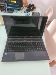 Vendo notebook quebrado 350 reais