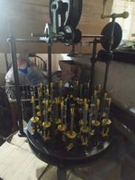 Maquina trançadeira 24 fusos