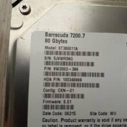Vendo HD 80 GB