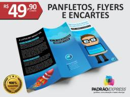 Panfletos, flyers, folhetos, prospectos, encartes, folder