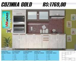 Cozinha Gold ENTREGA GOIÂNIA E APARECIDA