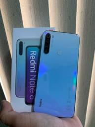 Note 8 64gb 4gb Ram Tela 6.3 48Mpx de câmera (todas as cores)