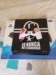 Título do anúncio: Playstation 4 - 1TB Slim + Controle Gamer Personalizado