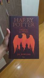 Livro harry potter e a ordem da fênix capa dura
