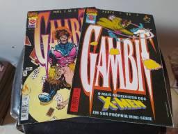 Hq Comics Marvel Gambit Parte 1 e 2