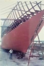 Casco Navio em Aço