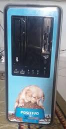 Computador Positivo: gabinete e cabos