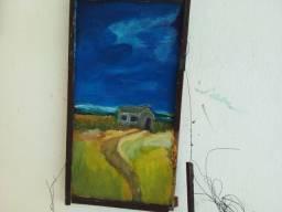 Pintura motivacional de reciclagem