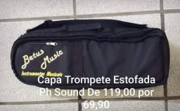 Capa Trompete estofada Ph Sound
