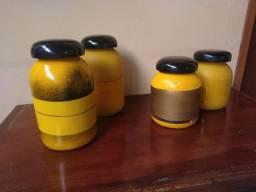 Conjunto de potes para mantimentos