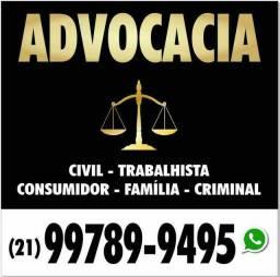 Advocacia - advogado consumidor, civil, imobiliário, criminal, família