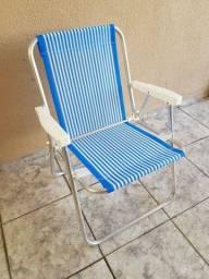 Título do anúncio: Cadeira de praia nova