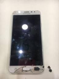 Celular J7 Prime para retiradas de peças placa e tela com defeito