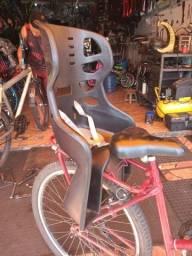 Título do anúncio: Cadeirinha traseira para Bike