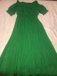 Vestido verde sedanbi