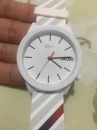 Relógio Lacoste Masculino Branco - 2010935 - Original Com nota fiscal