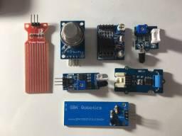 7 Sensores para Arduino/Raspberry