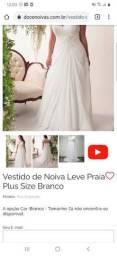Vestido de Noiva Plus Size - *NUNCA USADO*