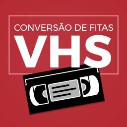 Título do anúncio: Conversão de fitas VHS para DVD