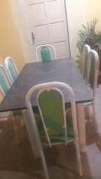 Vendo mesa cama fogão geladeira painel sofá