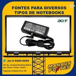 Carregador do Notebook Acer Ponta Padrão com Garantia