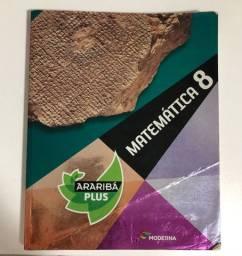 Livro Matemática 8 Ano - Araribá Plus