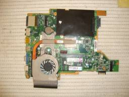 Kit Placa Mãe Notebook Itautec Infoway Note W7415, Com 4GB e Pentium Duo Core