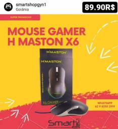Mouse Gamer X6 Gaming