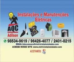 II Eletricista, Instalação Elétrica, Luminárias, Ventilador