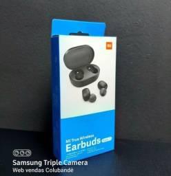 Fones de Ouvido Wireless Earbuds  (Redmi Airdots  Versão Global)