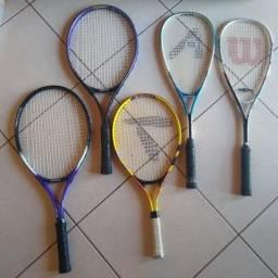 Título do anúncio: Raquetes de Squash e Tenis
