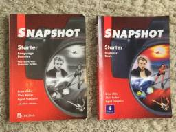 2x Livros Inglês Snapshot Starter Language Booster Workbook + Student's Book Zerados!