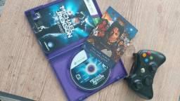 Controle Xbox 360 mais jogo