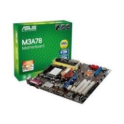 Processador Amd + Placa Mae Asus + Ddr2 + Nvidia Geforce