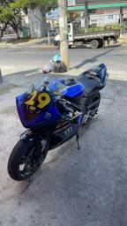 Yamaha R1 2008 pista