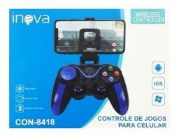 Controle Sem Fio Gamepad Bluetooth Smartphone Android Ios Nf