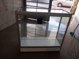 Título do anúncio: Balcão em Vidro com Iluminção com 2 prateleiras em vidro