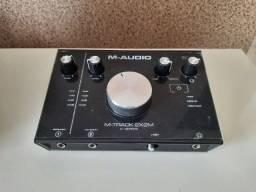 Interface de Audio M-Audio M-Tracks2x2m