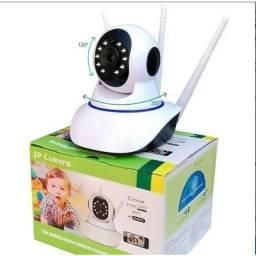 Título do anúncio: Camera Robo 3 Antenas Ip Wifi 360º 720p Sistema Yoosee
