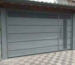 Portão Basculante Galvanizado 3.80x2.50