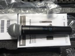 Título do anúncio: Microfone Sem Fio Shure Bastao PGXD24BR SM58