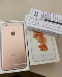 iPhone 6s rose 32g em excelente estado