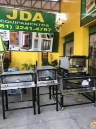 Toda linha de forno com pedras refratárias em inox / a partir de r$ 2.100,00