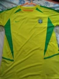 4a8efed487 Camisa do Brasil de 2002 oficial (raridade)
