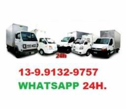 Caminhão de frete carreto e mudaças transportes em geral baixada grande sp interior e Br