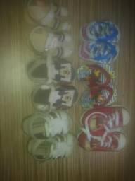 Sandalinhas infantis masculinas $10cada
