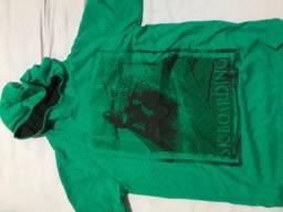 Camisa Verde com capuz