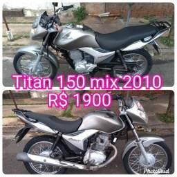 Titan 150 mix de leilão - 2010